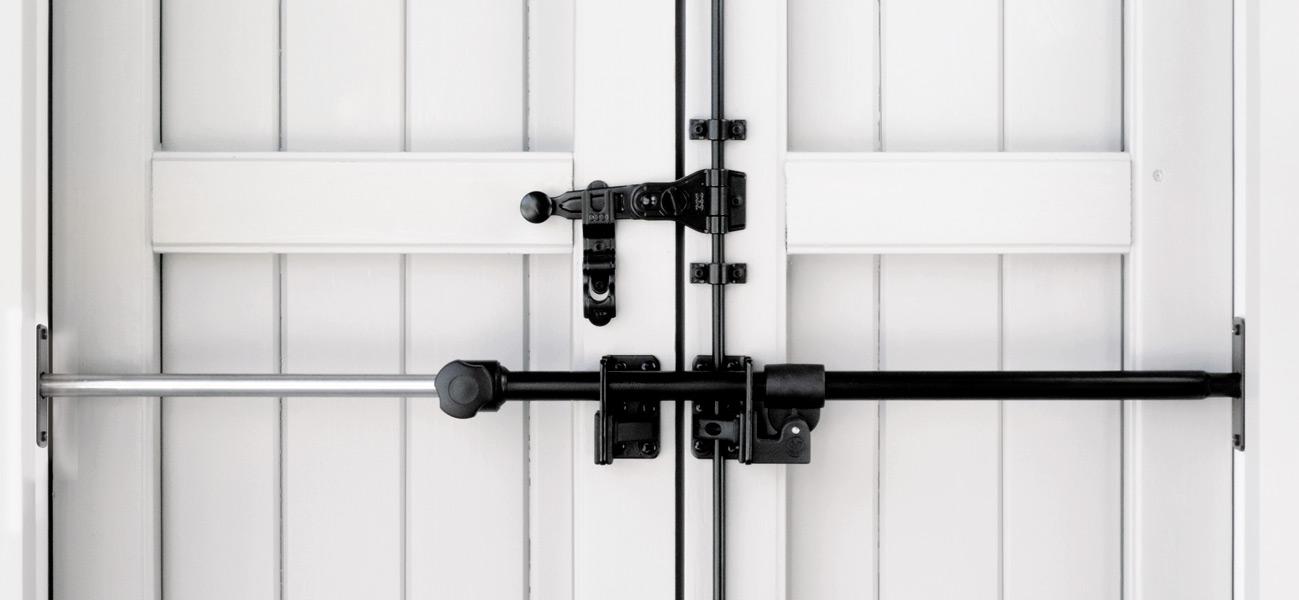 Blindy sbarra sicurezza per porte finestre scuri e persiane - Sbarra di sicurezza per porte ...