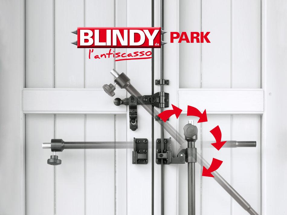 Park accessorio blindy sbarra per la sicurezza di porte - Sbarra di sicurezza per porte ...